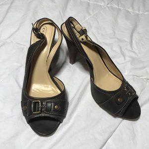 Coach heels! Women's size 9
